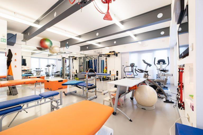 interno palestra riabilitativa Movita Udine